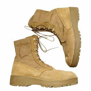 MEN'S ARMY Hot Weather Combat Boots Vibram Soles